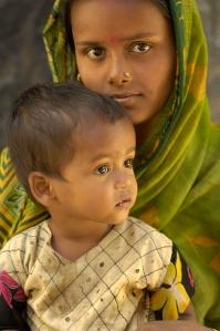 Basanti ARI with daughter